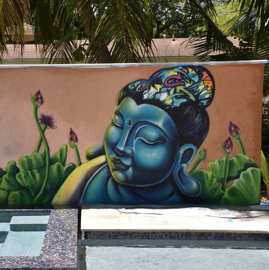 Buddah pool