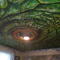Ceiling Dragon eye