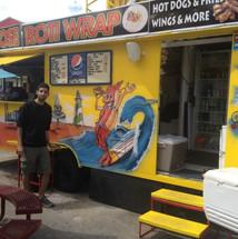 Hot dog shop