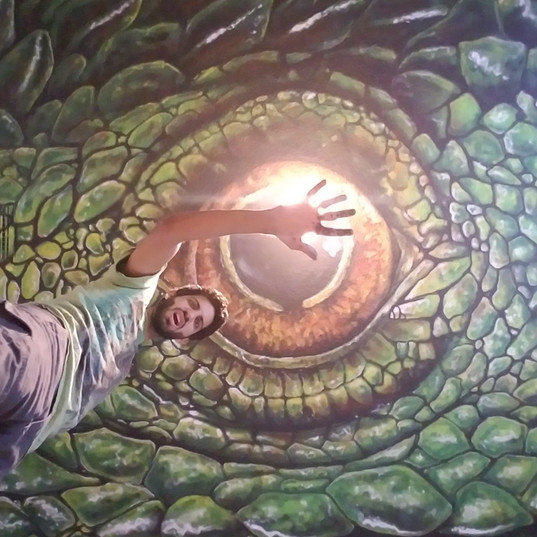 Ceiling Dragon eye 2