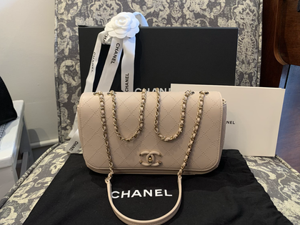 SOLD Chanel Quilted Small Flap 19S