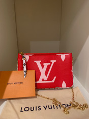SOLD Louis Vuitton Pochette Limited Edition Coated Canvas