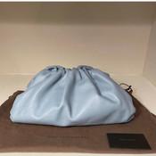 """The Pouch"" by Bottega Veneta. Size large,"