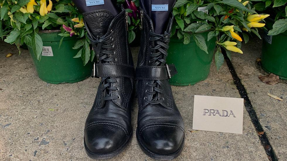 Prada Combat Boots  Size: 8.5 (US)