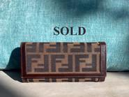 SOLD Fendi Wallet