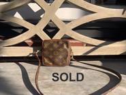 SOLD Louis Vuitton Mini Corssbody