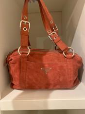 SOLD Prada Suede Handbag