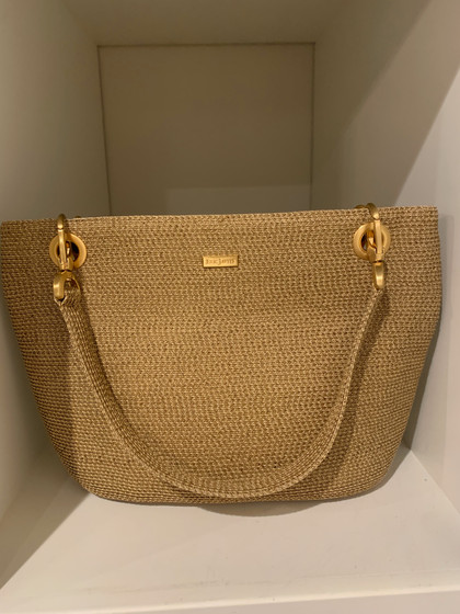 SOLD Eric Javits Woven Bag