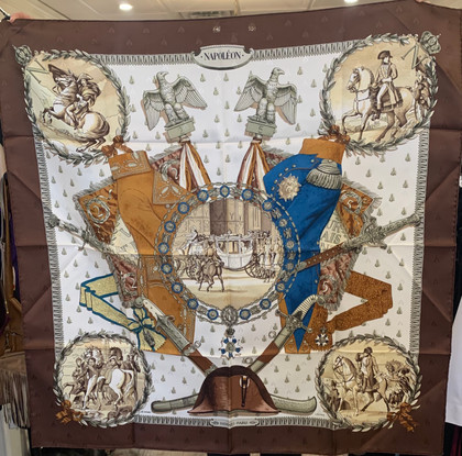 SOLD Napoleon Hermes Silk