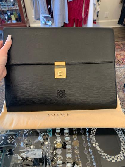 Loewe Clutch/ Briefcase