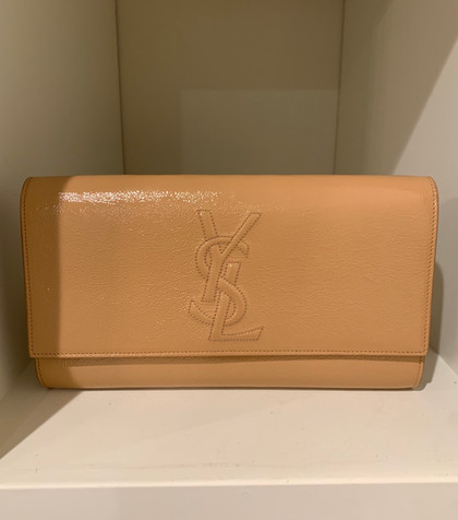 SOLD YSL Patent Leather Clutch