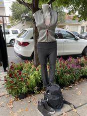 Prada Vest, Marc Jacobs Backpack, Vince Sneakers