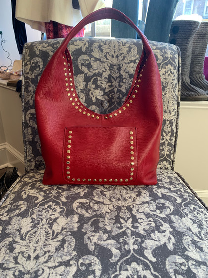 Cherry Red Lagos Tote
