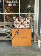 Louis Vuitton neverfull MM crafty