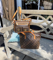 SOLD Manhattan MM (with buckle) $1,450. Great condition. Cabas PM zip tote $595, good condition.
