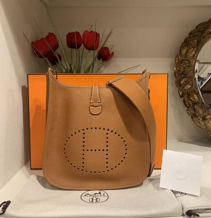SOLD Hermès Evelyne Bag PM Full Set