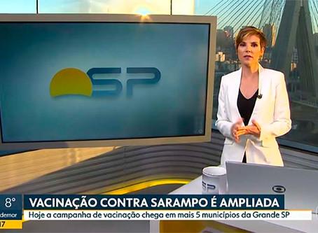 Casos de sarampo crescem 300% em São Paulo