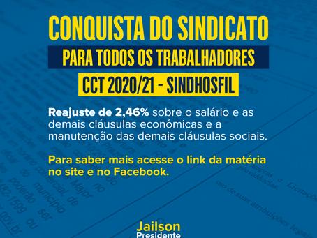CONQUISTA DO SINDICATO (SINDHOSFIL)