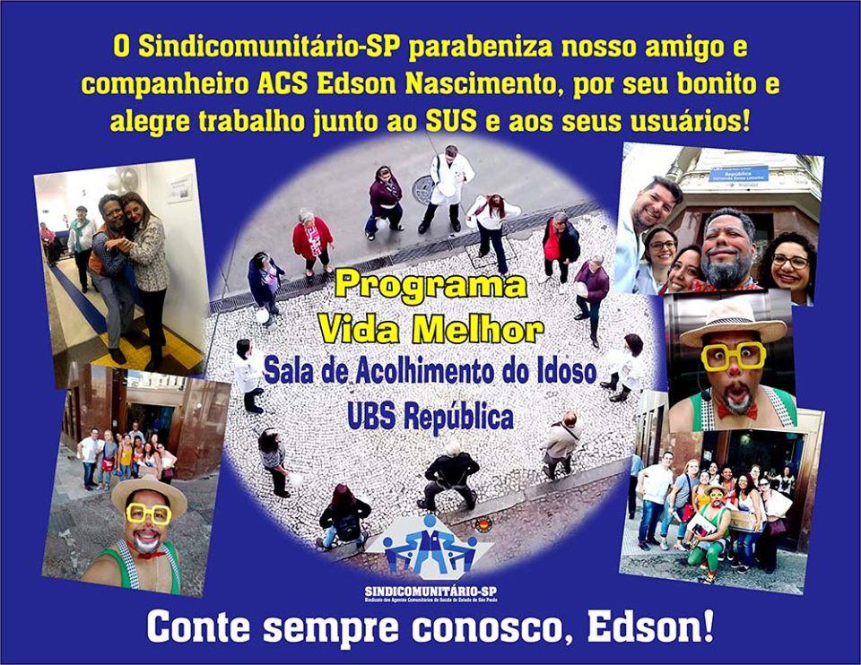 Arte: Erick Vizoki/Deptº de Comunicação do Sindicomunitário-SP