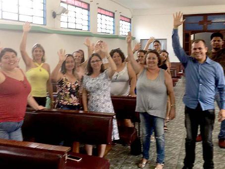 Diretores vão à Caraguatatuba levar boas notícias sobre insalubridade