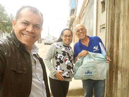 CAMPANHA DE SINDICALIZAÇÃO 2019: Sindicato entrega Kit Maternidade na UBS Santa Lúcia