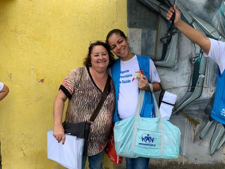 CAMPANHA DE SINDICALIZAÇÃO 2019: Mais uma gestante recebe seu Kit Maternidade na Zona Leste