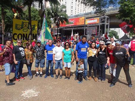 1º de Maio 2019: ato unificado de centrais sindicais aprovam greve geral para 14 de junho