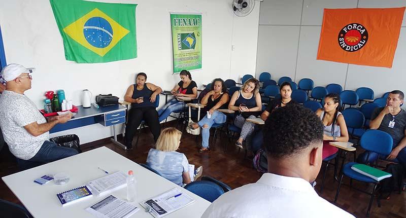 Foto: Erick Vizoki/Sindicomunitário-SP