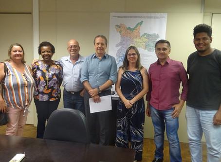 Secretário de Saúde recebe diretores e propõe parceria com o Sindicomunitário-SP