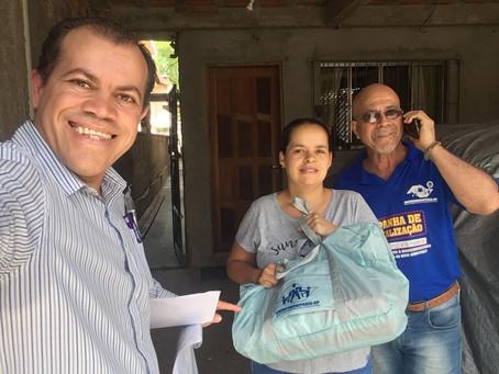 CAMPANHA DE SINDICALIZAÇÃO 2019: Sindicato entrega mais um Kit Maternidade na UBS Ellus/Shangrillá