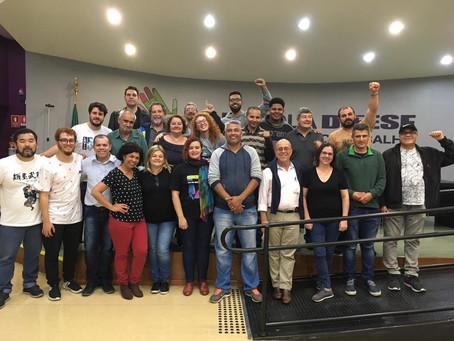 Diretores participam de curso de comunicação e expressão no Dieese