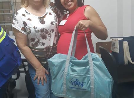 CAMPANHA DE SINDICALIZAÇÃO 2019: Sindicato entrega Kit Maternidade para ACS da UBS Vila Nova Jaguaré