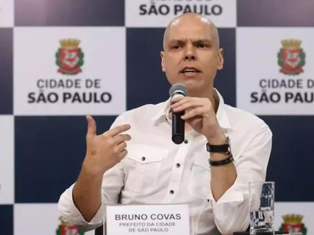 Bruno Covas anuncia novas medidas para evitar a proliferação do Covid-19