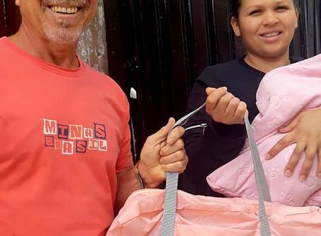 CAMPANHA DE SINDICALIZAÇÃO 2019: Entrega de Kit Maternidade no Capão Redondo