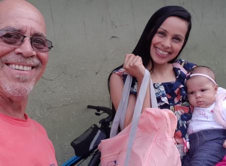 CAMPANHA DE SINDICALIZAÇÃO 2019: Entrega Kit Maternidade na Cidade Ademar