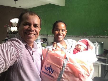 CAMPANHA DE SINDICALIZAÇÃO 2019: Sindicato entrega Kit Maternidade na UBS Chácara do Conde