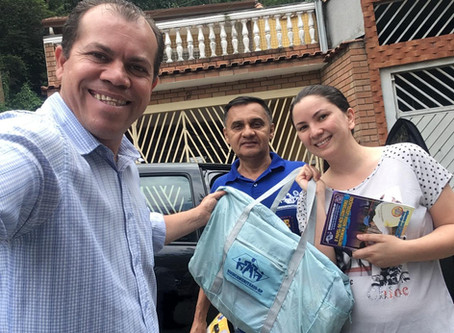 CAMPANHA DE SINDICALIZAÇÃO 2019: Sindicato entrega Kit Maternidade na UBS Panamericano