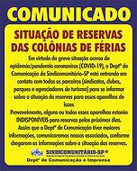 COMUNICADO_-_RESERVAS_DE_COLÔNIAS_DE_FÃ