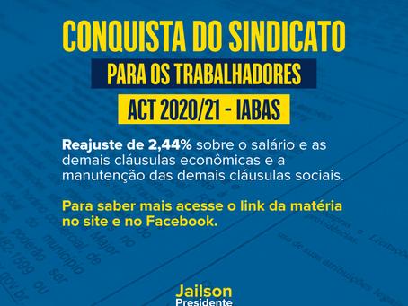 CONQUISTA DO SINDICATO (IABAS)