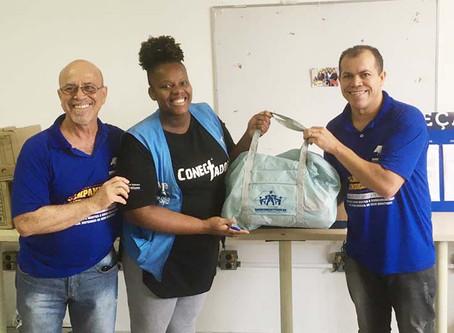 CAMPANHA DE SINDICALIZAÇÃO 2019: Sindicato entrega Kit Maternidade na UBS Vila Império 2