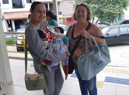 CAMPANHA DE SINDICALIZAÇÃO 2019: Sindicato entrega Kit Maternidade na UBS União de Vila Nova