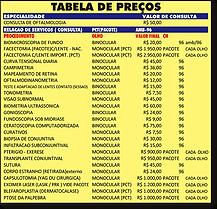 TABELA  705  SINDICOMUNITARIOS REL EXAME