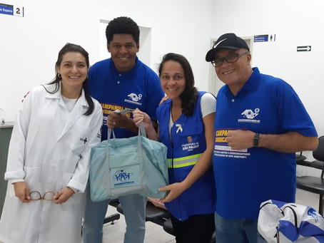 CAMPANHA DE SINDICALIZAÇÃO 2019: Sindicato entrega Kit Maternidade na UBS Vila Formosa II