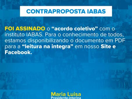 Contraproposta (IABAS)