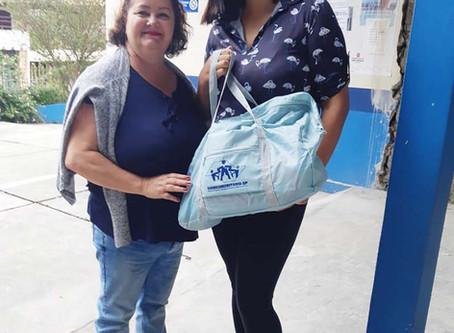 CAMPANHA DE SINDICALIZAÇÃO 2019: Sindicato entrega Kit Maternidade na UBS Jd. Santa Maria
