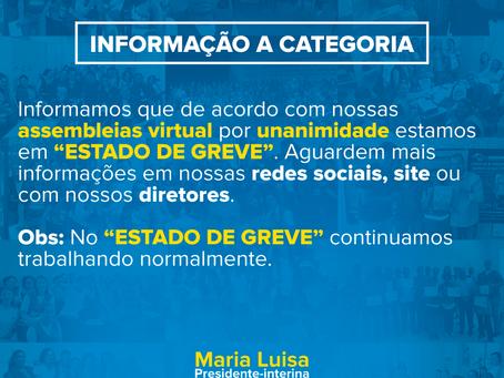 ESTADO DE GREVE!
