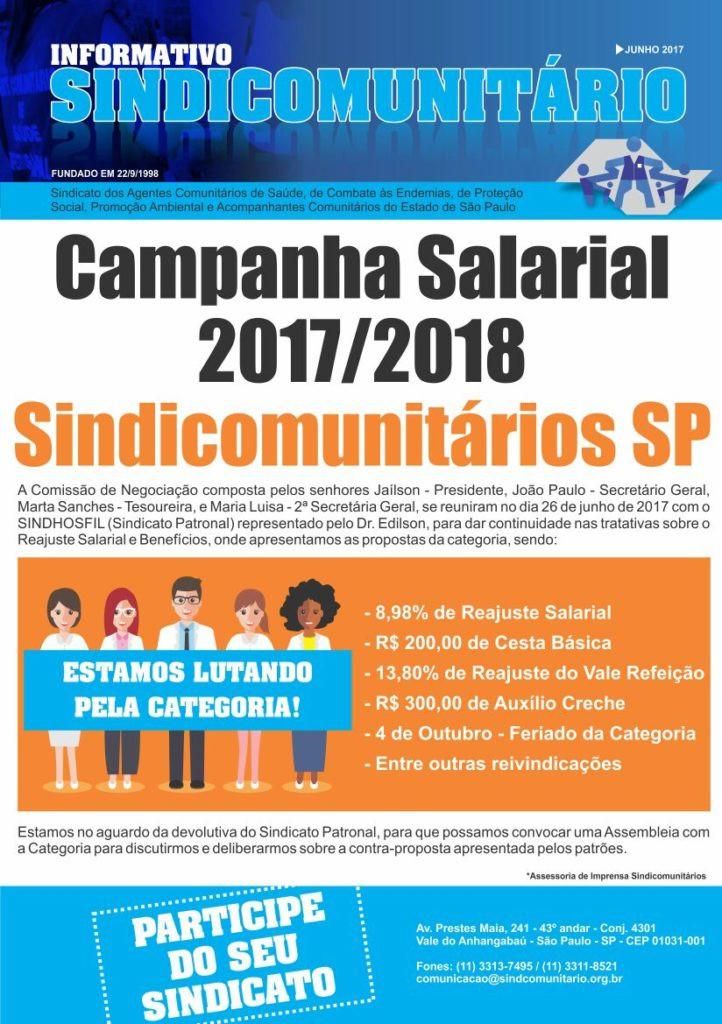 Informativo Sindicomunitário/SP