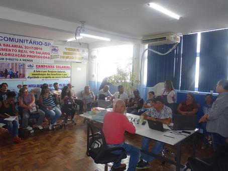 Sindicomunitário-SP realiza a primeira reunião da diretoria de 2020