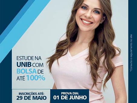 UNIB: Bolsas de até 100%!!!