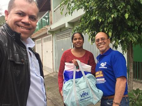 CAMPANHA DE SINDICALIZAÇÃO 2019: Sindicato entrega Kit Maternidade na UBS Jardim Alfredo